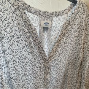Old Navy 3/4 length sleeves blouse